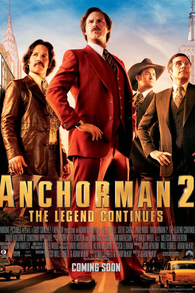 Anchorman 2 The Legend Continues 2013 Yipee Ki Yay Motherbooker